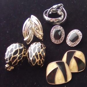 Vintage Earring Lot. 5 Beautiful sets.